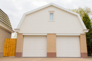 Garage With Two Doors