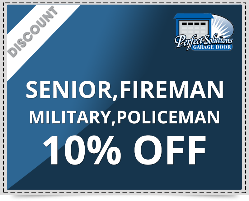 10% discount for senior policeman fireman and ,military