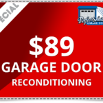 $89 Garage Door Reconditioning