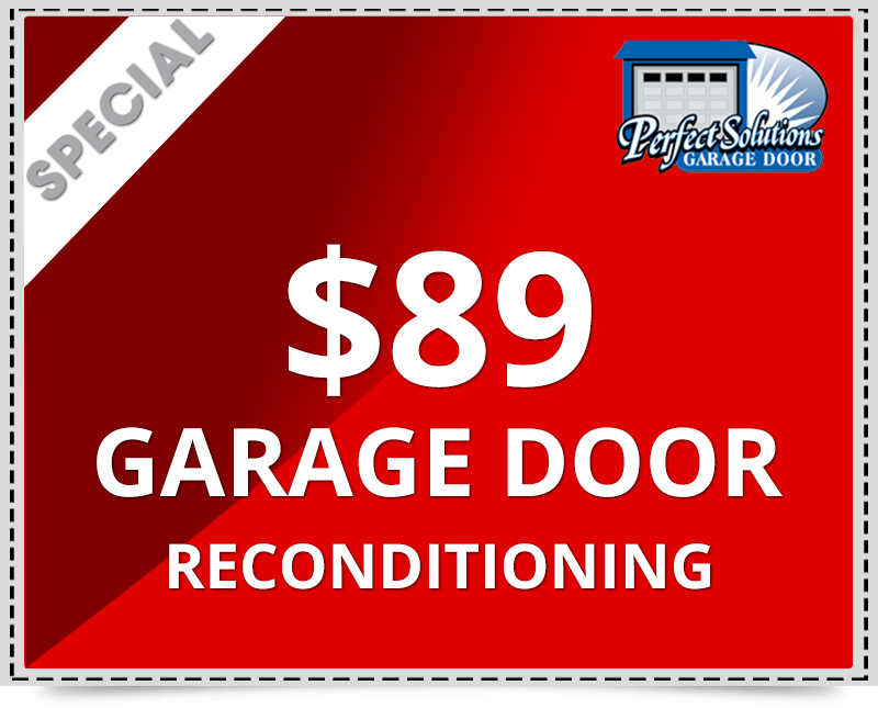 $89 Discounted Rate for Annual Maintenance and reconditioning