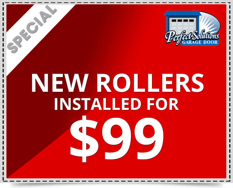 Discount rate for new rollers $99 installed