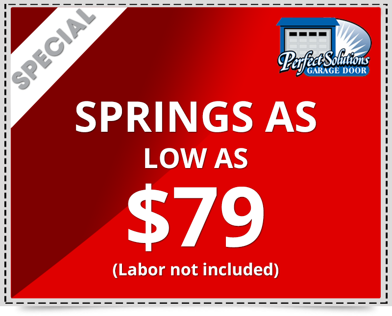 Springs discount garage door repair