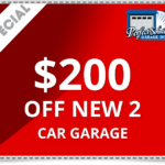 $200 Off for New 2 Car Garage Doors