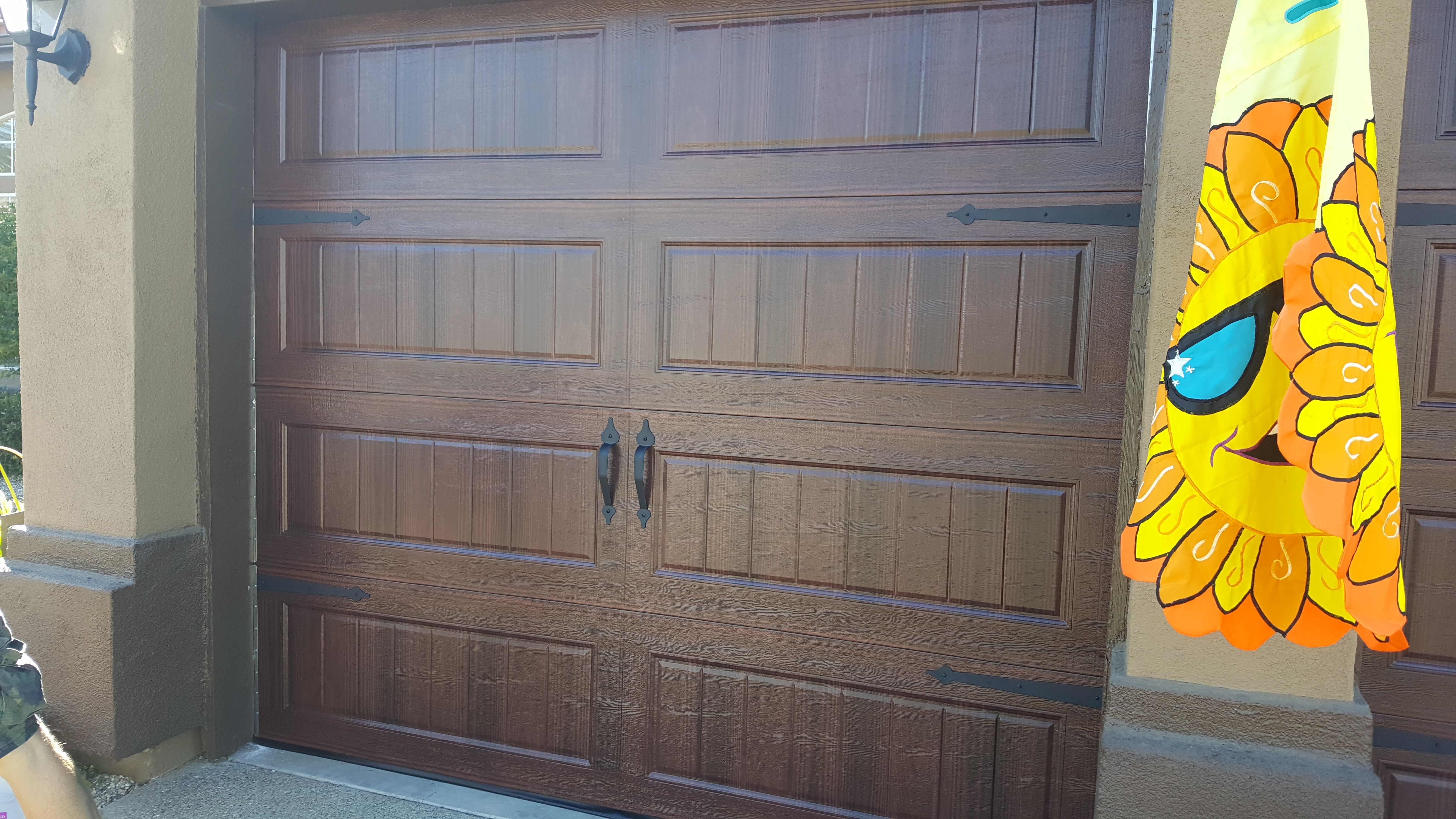 Amarr single car Garage Door