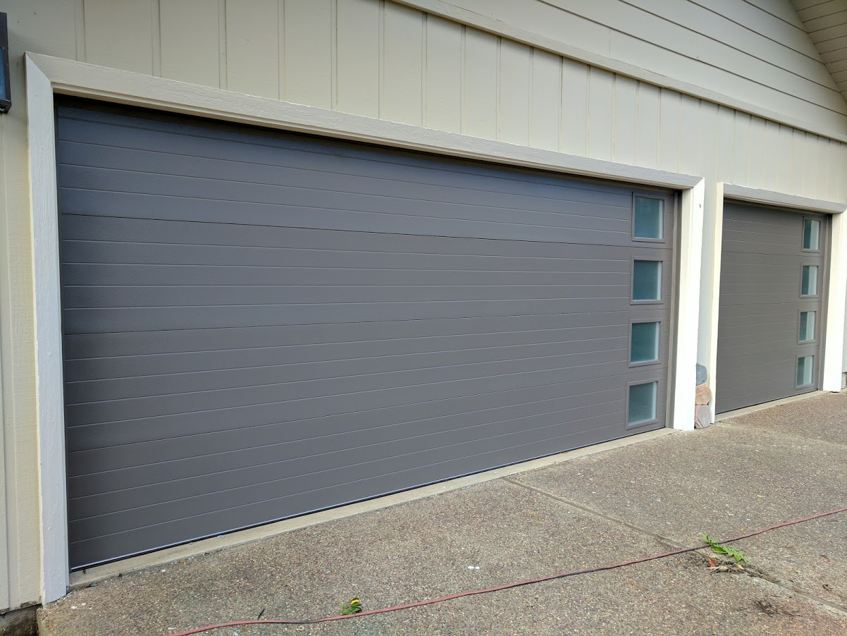 Garage side door installation photo album for Garage side entry door