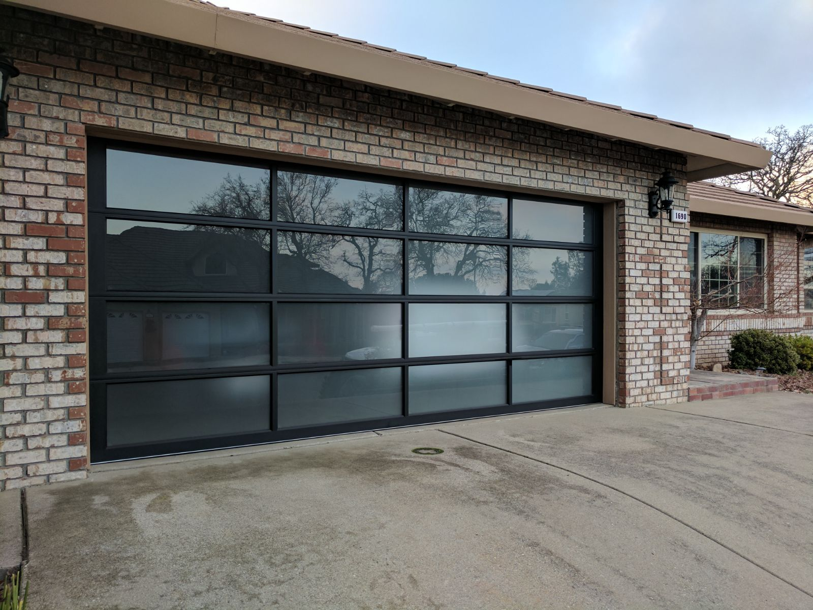 Doors To Garage: Entry Door Installation With Matching Garage Doors