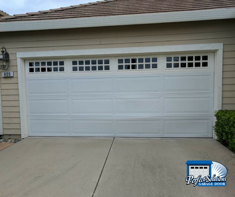 Garage Door Accidents : Garage door replacement after accident perfect solutions