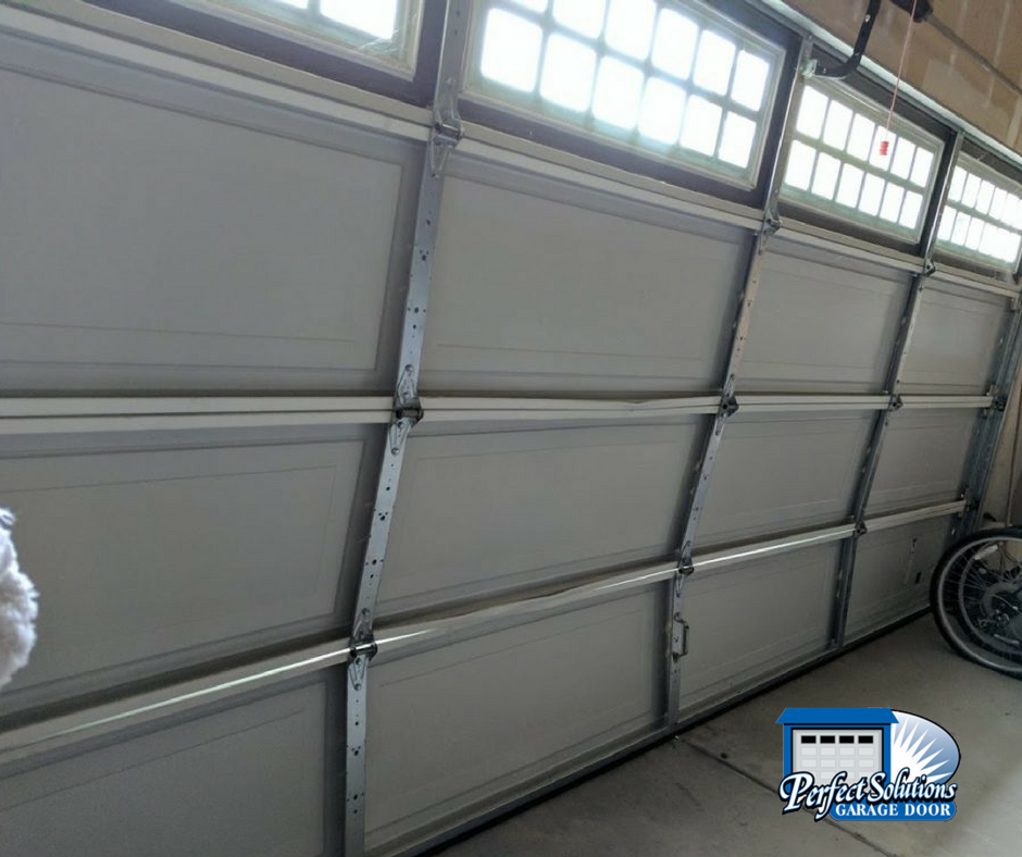 Garage Door Replacement After Accident Perfect Solutions