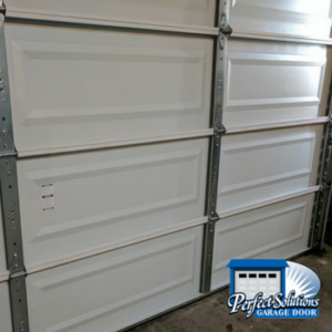 fixed garage door panel
