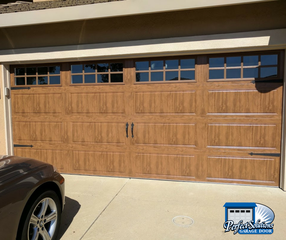Changing out your garage doors can instantly give your home updated curb appeal and is immediate equity into your home. The builder basic white doors this ... & Project Archives - Perfect Solutions Garage Door