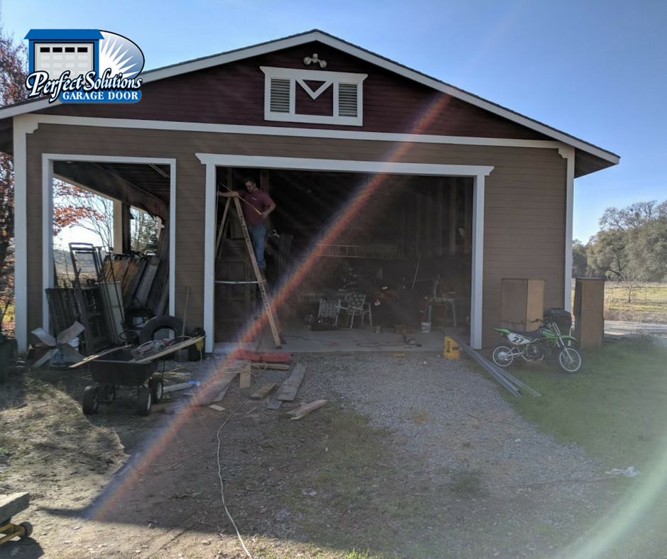 Commercial Garage Door Installation On Shed Perfect Solutions