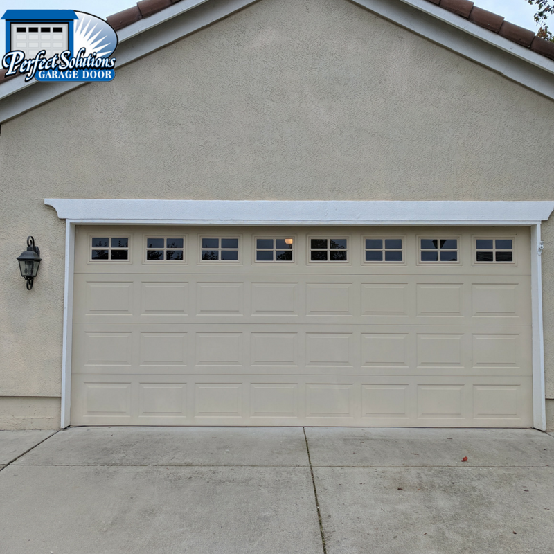 Rv garage conversion project roseville garage door for How tall is an rv garage door