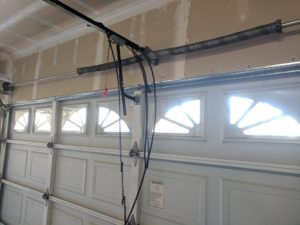 garage door cable broken