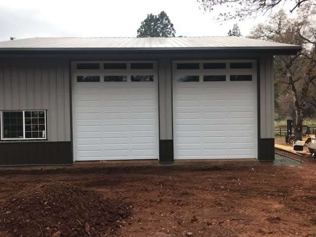 Large Metal Garage Door Installation Perfect Solutions Garage Door