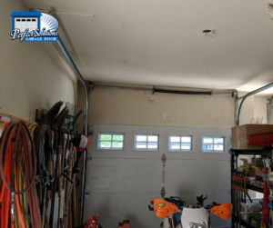 high lift garage door conversion granite bay