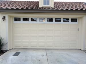 adding windows to an existing garage door