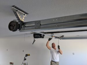 Rear Torsion Spring System Installation Granite Bay Ca