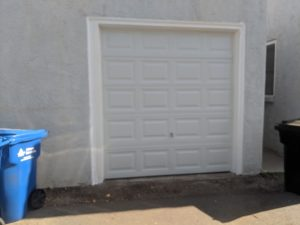New Single Car Garage Door Installation in Sacramento, CA